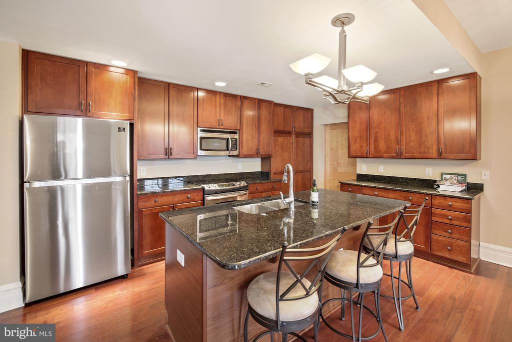 Updated Kitchen with Breakfast Bar - 9610 DEWITT DR #PH412, SILVER SPRING