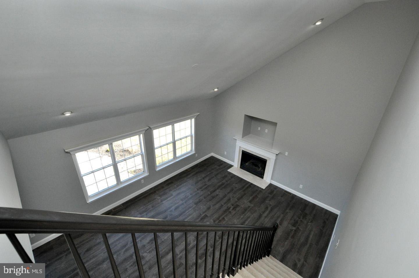 Back staircase to family room