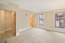 Master Bedroom with Ensuite Bath - 9610 DEWITT DR #PH412, SILVER SPRING