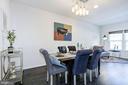 Dining room - 13411 WATERFORD HILLS BLVD, GERMANTOWN