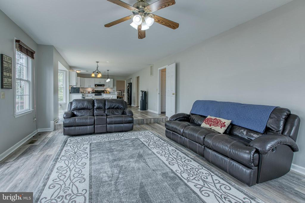 New flooring in the family room, kitchen & eat in - 58 BALDWIN DR, FREDERICKSBURG