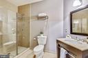 En-Suite Bathroom for Main Level Bedroom - 1701 KALORAMA RD NW #314, WASHINGTON
