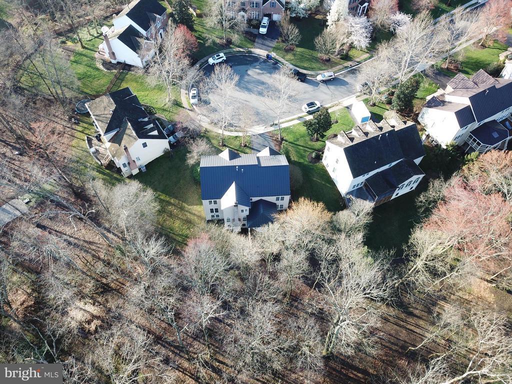 Aerial of cul de sac - 1439 HARLE PL SW, LEESBURG