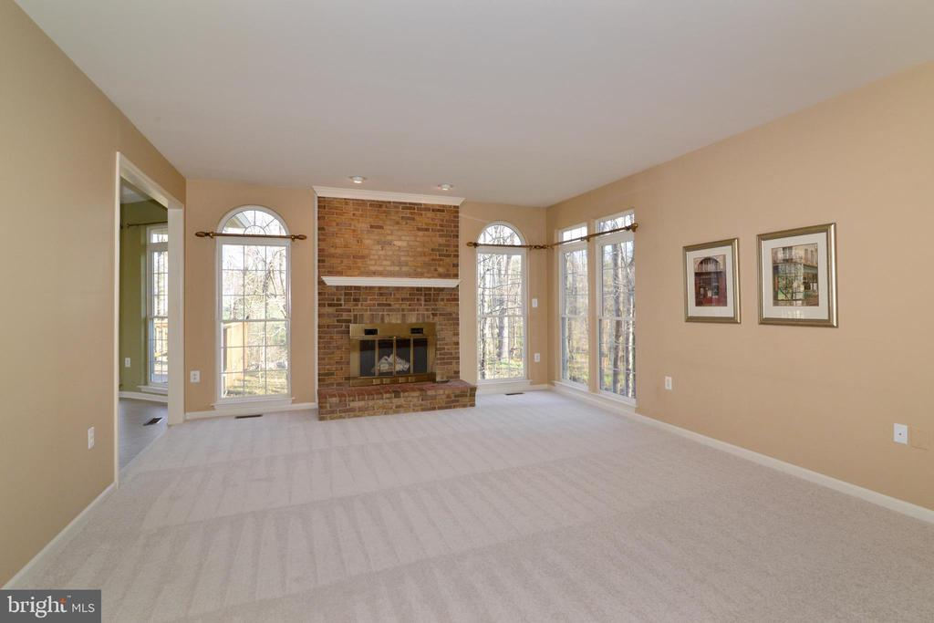 Tons of natural light from large transom windows - 1439 HARLE PL SW, LEESBURG