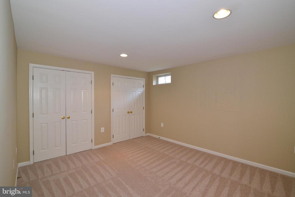 Bonus room/exercise, could be used for guests - 1439 HARLE PL SW, LEESBURG