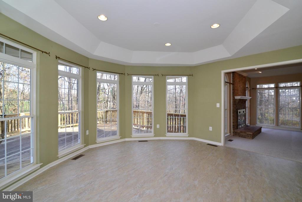 Tray ceiling, new flooring, recessed lights - 1439 HARLE PL SW, LEESBURG