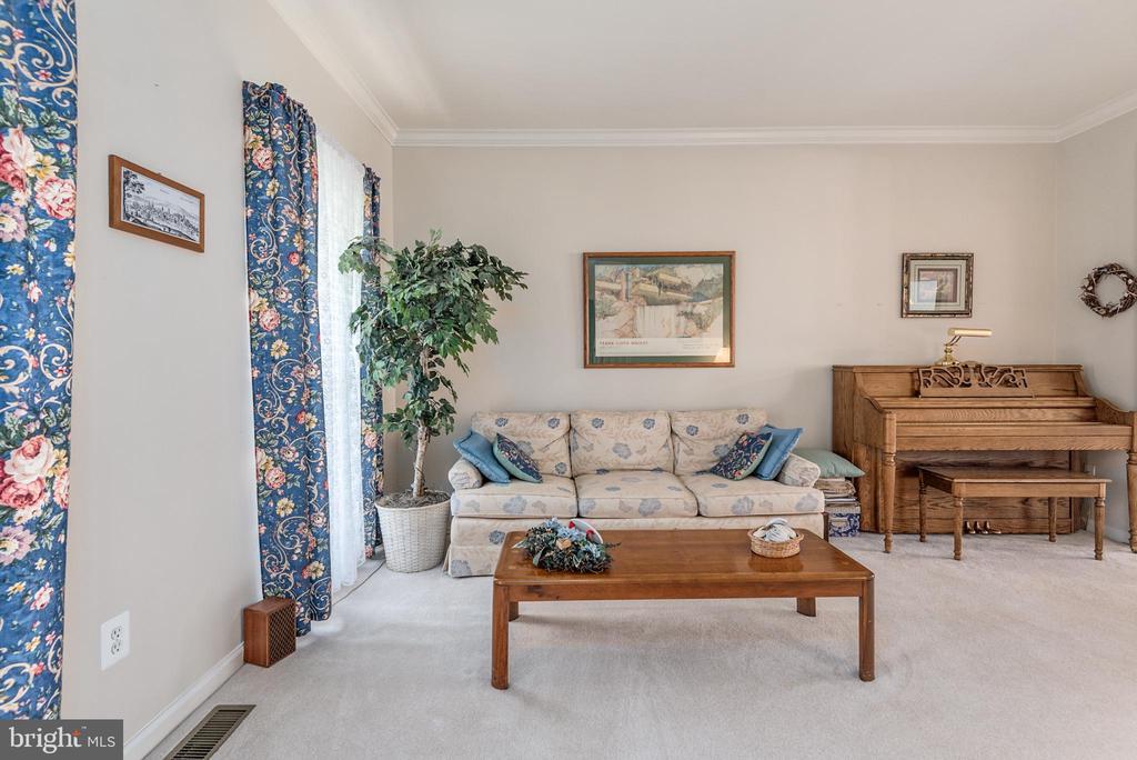 Formal living room -days of entertaining ahead - 28 FIREBERRY BLVD, STAFFORD
