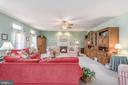 Your family room is so spacious 22 X 16, gas fp - 28 FIREBERRY BLVD, STAFFORD
