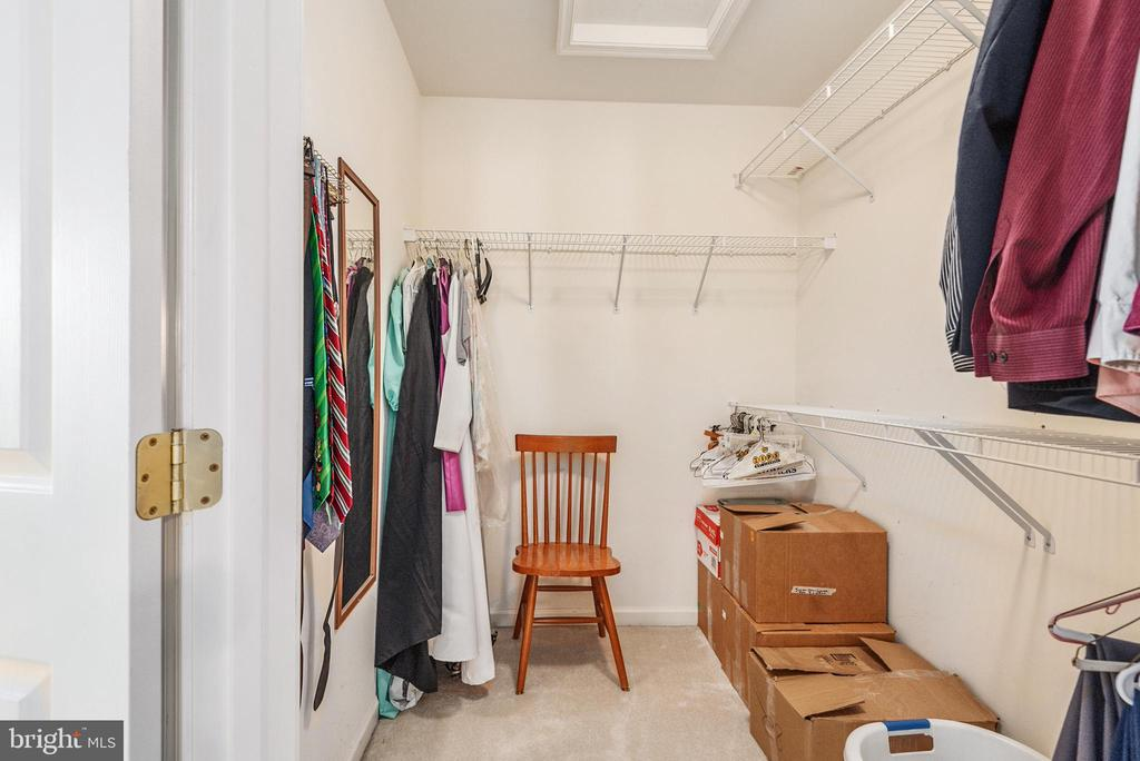 Master suite walk in closet 2 - 28 FIREBERRY BLVD, STAFFORD
