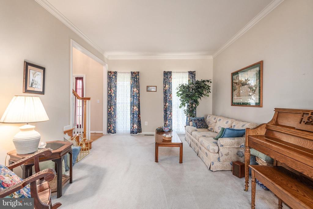 Formal living room - 28 FIREBERRY BLVD, STAFFORD