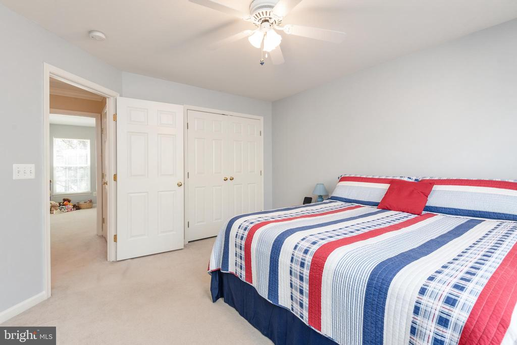 Bedroom # 4 double closet - 28 FIREBERRY BLVD, STAFFORD