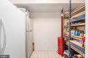 Large storage space metal shelves convey - 28 FIREBERRY BLVD, STAFFORD