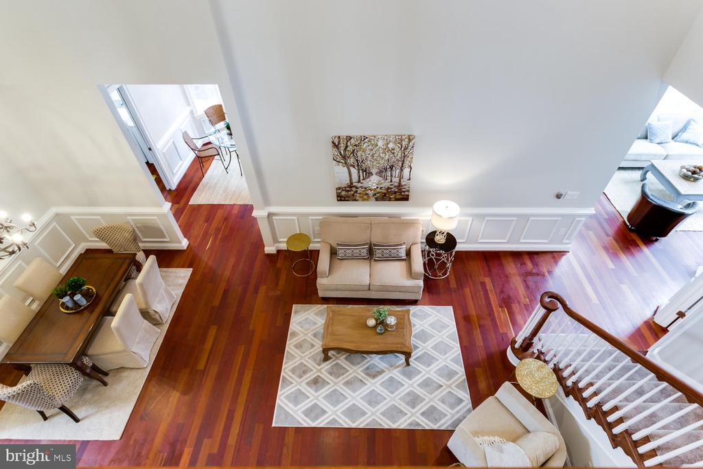 Bird's eye view - 8012 BAINBRIDGE RD, ALEXANDRIA