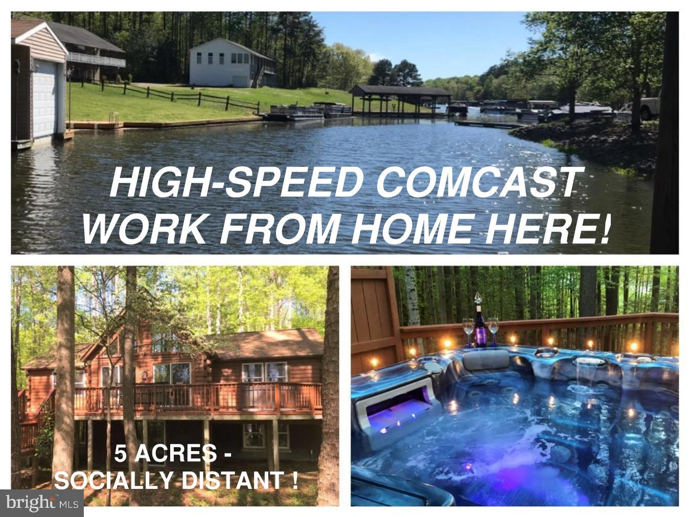 Single Family Homes для того Продажа на Bumpass, Виргиния 23024 Соединенные Штаты