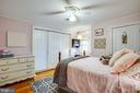 BR#3 is 14x12 and has 2 closets - 1104 PRINCE EDWARD ST, FREDERICKSBURG