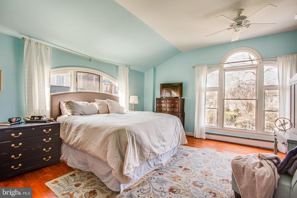 17x15 Master Bedroom + 2 walk-in closets - 1104 PRINCE EDWARD ST, FREDERICKSBURG