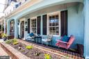 Morning coffee on the front porch - 1104 PRINCE EDWARD ST, FREDERICKSBURG