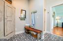 Plumbing in  & room for a tub if buyer desires! - 1104 PRINCE EDWARD ST, FREDERICKSBURG