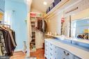 10x7 walk in closet/dressing area in Master BR - 1104 PRINCE EDWARD ST, FREDERICKSBURG