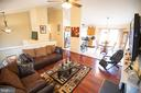 Family Room open to dining Room - 36009 WILDERNESS SHORES WAY, LOCUST GROVE