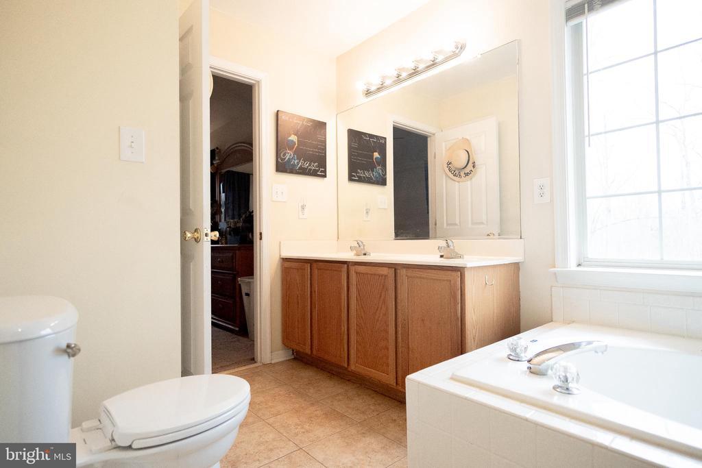 Master Bath  with Garden tub and separate shower - 36009 WILDERNESS SHORES WAY, LOCUST GROVE