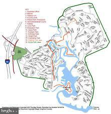the map to your new resort style community - 2026 FARRAGUT DR, STAFFORD