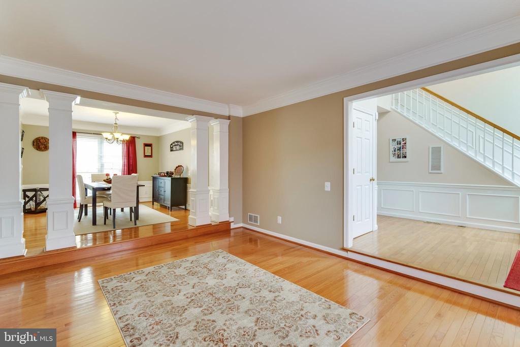 Living Room - 3551 ESKEW CT, WOODBRIDGE