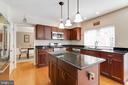 Kitchen - 3551 ESKEW CT, WOODBRIDGE