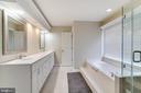 Master Bath - 3551 ESKEW CT, WOODBRIDGE