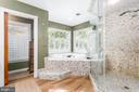 Incredible Spa Master Bath with Walk In Shower - 37 LOUIE LN, STAFFORD