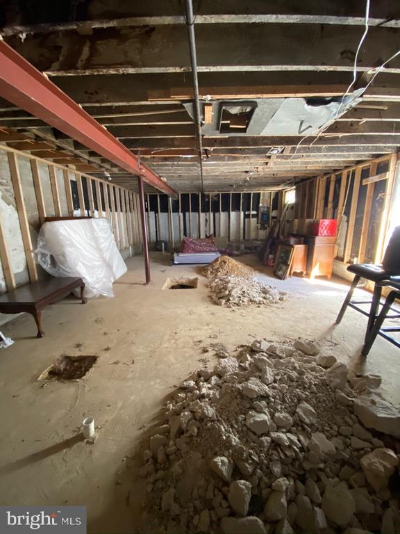 Unfinished basement - 1946 3RD ST NW, WASHINGTON