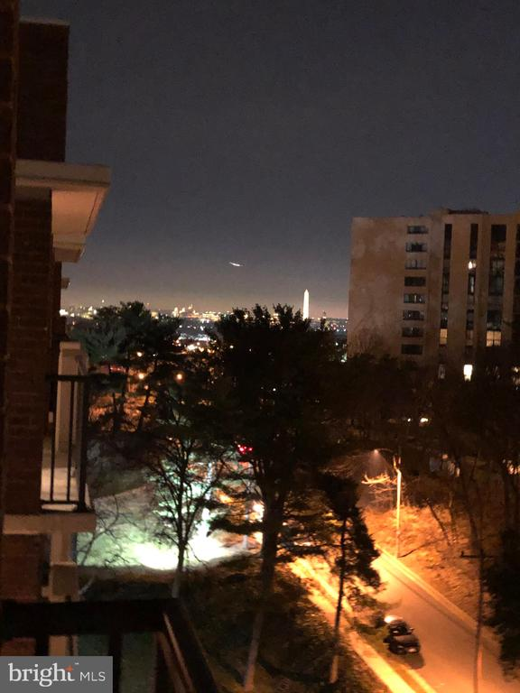 NIght time view from #1012 - 1300 ARMY NAVY DR #1012, ARLINGTON
