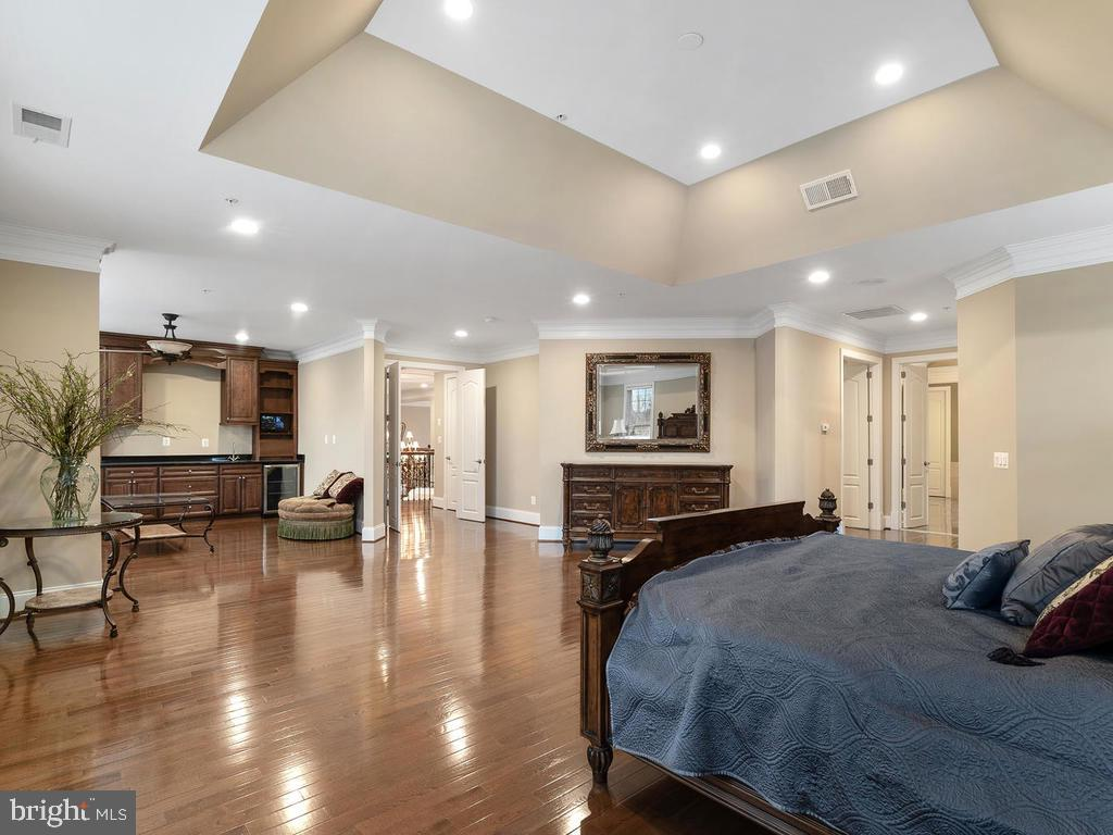 HUGE MASTER BEDROOM WITH SITTING AREA - 10801 WINDCLOUD CT, OAKTON