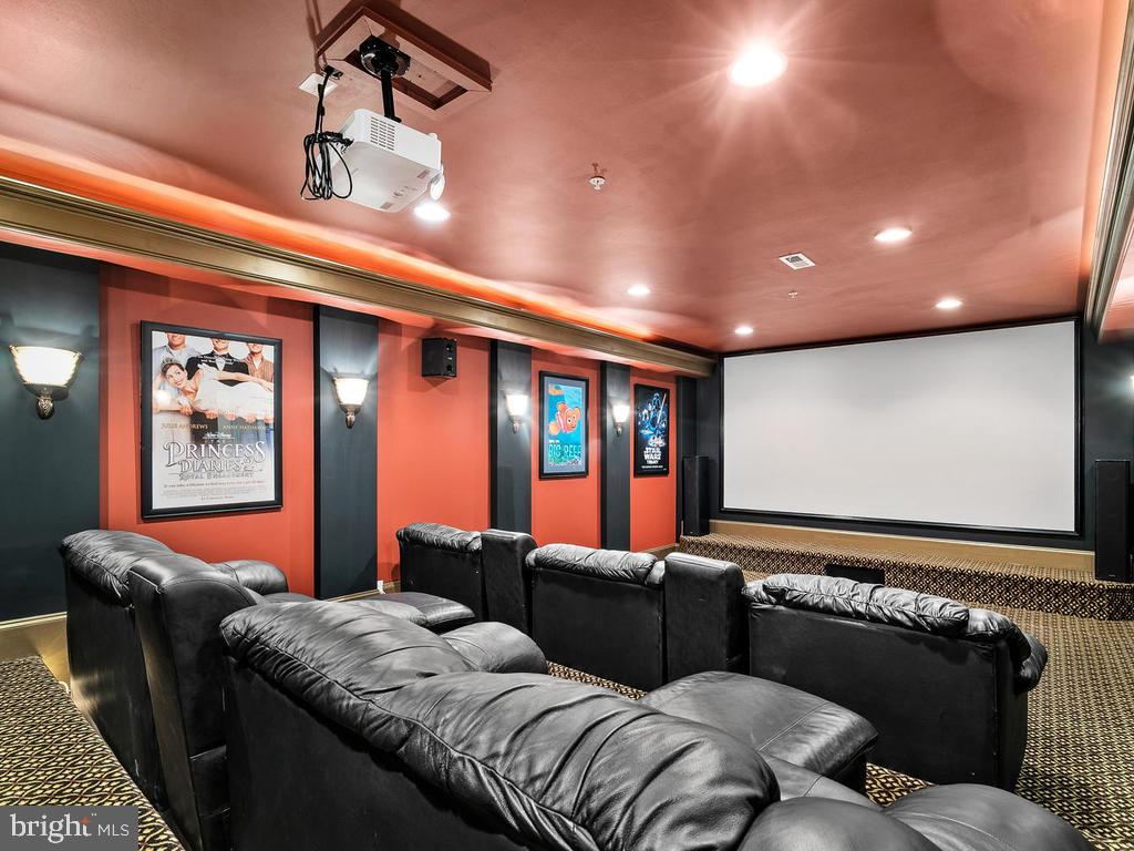 MOVIE THEATER ROOM - 10801 WINDCLOUD CT, OAKTON