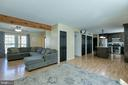 Open concept Family Room/Living Room  & Kitchen - 435 OAKRIDGE DR, STAFFORD