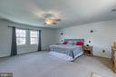 Lots of natural light in the Master Suite - 435 OAKRIDGE DR, STAFFORD