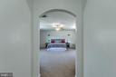 Arch doorway to master suite - 435 OAKRIDGE DR, STAFFORD