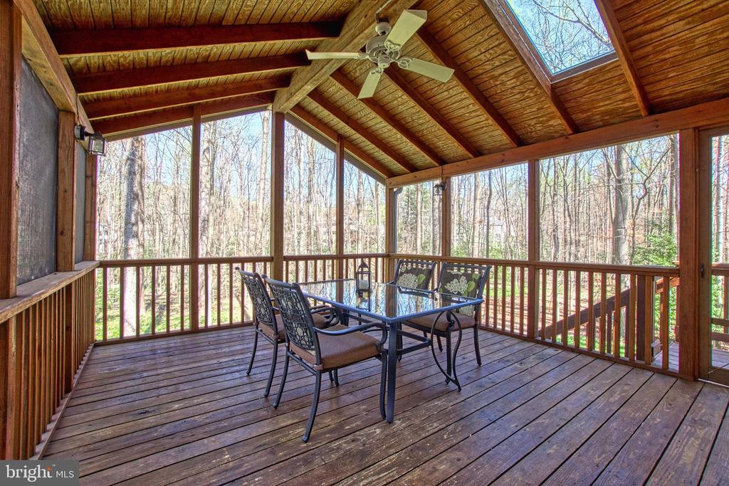 Enjoy This Outdoor Space and Fenced Yard - 7308 S VIEW CT, FAIRFAX STATION