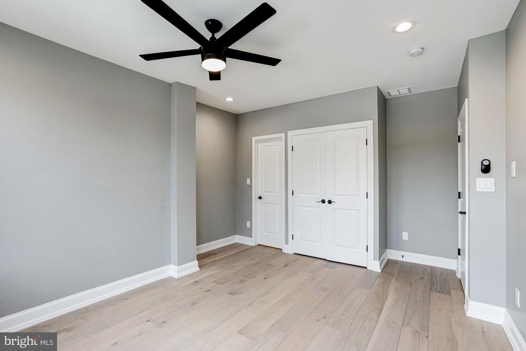 Master Bedroom with Recessed Lighting - 207 VARNUM ST NW, WASHINGTON