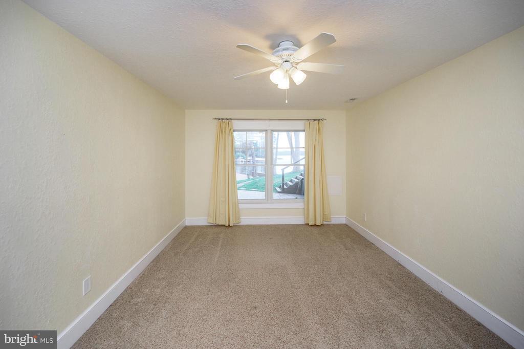 Lower level bedroom #4 boasts water views - 123 MT VERNON CT, LOCUST GROVE