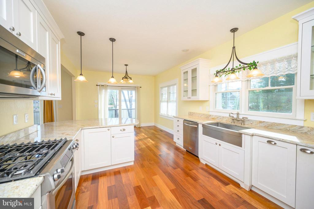 Upgraded stainless steel appliances w/ gas cooking - 123 MT VERNON CT, LOCUST GROVE