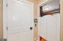 Privacy swinging doors for dressing room - 320 N PATRICK ST, ALEXANDRIA