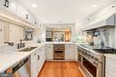 Cook's kitchen with outstanding work space - 320 N PATRICK ST, ALEXANDRIA
