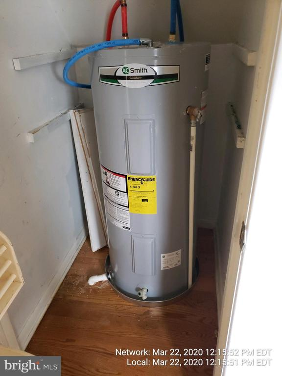 brand new water heater - 85 BARNES BLVD, COLONIAL BEACH