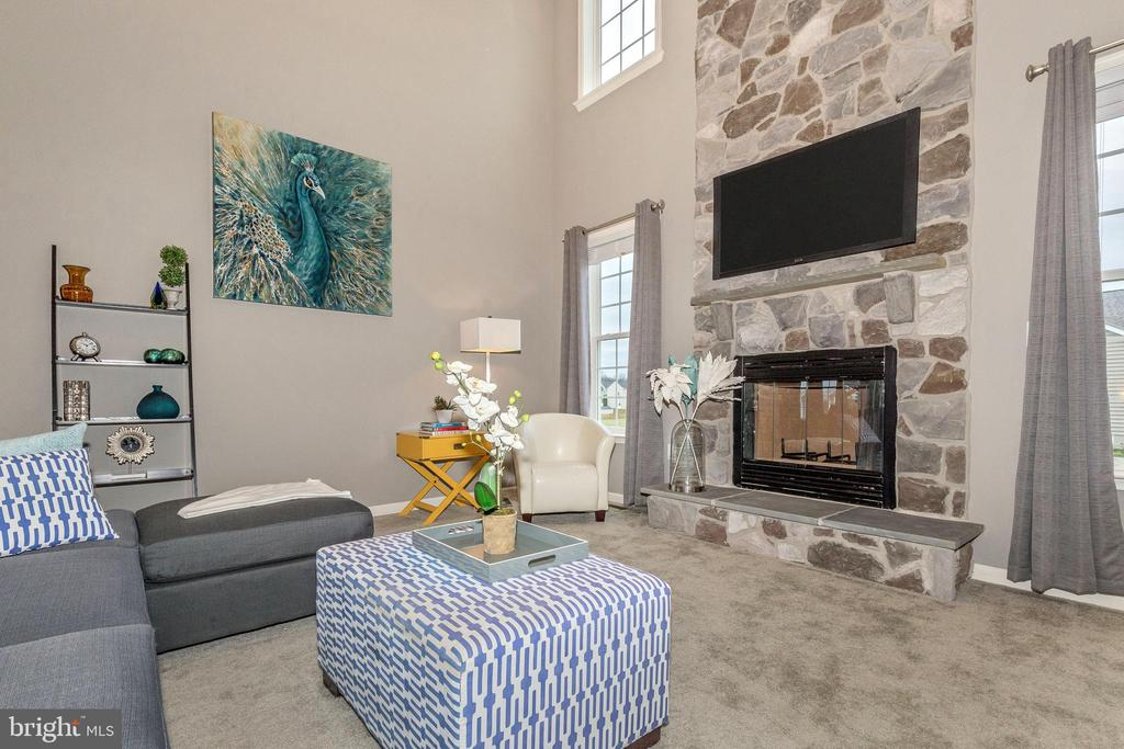 Family Room shown with optional 4' extension - 307 NICHOLAS HALL ST, NEW MARKET