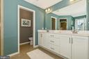 Master Bathroom with upgraded Cabinets - 307 NICHOLAS HALL ST, NEW MARKET