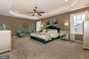 Master Bedroom with optional tray ceiling - 307 NICHOLAS HALL ST, NEW MARKET
