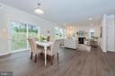 Kitchen Breakfast Area - 505 ISAAC RUSSELL, NEW MARKET