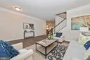 Living Room with included Double Crown Molding - 505 ISAAC RUSSELL, NEW MARKET