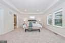Master Bedroom with optional Recessed Lighting - 505 ISAAC RUSSELL, NEW MARKET